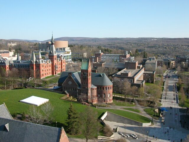 Aerial-view-Cornell-University